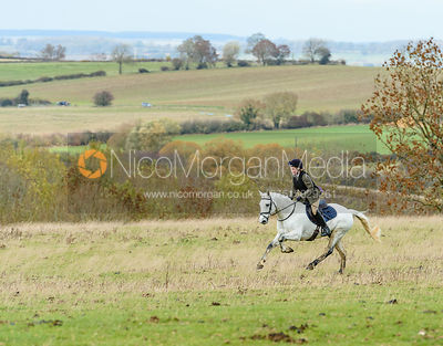 Sienna de Gale at Stone Lodge. The Cottesmore Hunt at Tilton