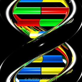 DNA #24 semi-abstract