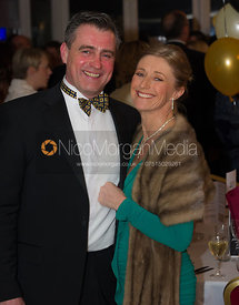 Guests at the Cottesmore Hunt Ball 2013