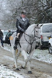 Joint meet of the Fitzwilliam and Woodland Pytchley Hunts