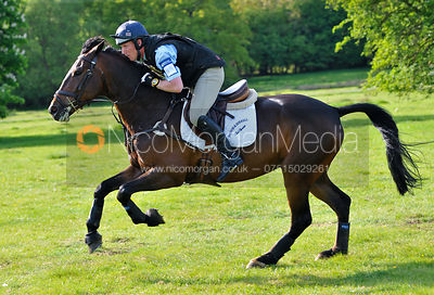 Oliver Townend and ODT Furture IMP, Brigstock International Horse Trials 2010