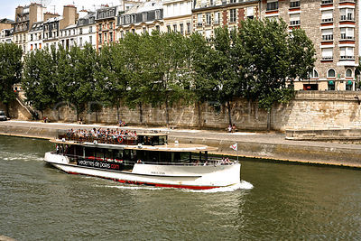 River Boat on The River Seine