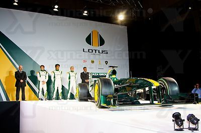 Lotus F1 Launch, London