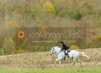 Alice Robb at Stone Lodge. The Cottesmore Hunt at Tilton