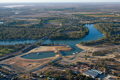 Mildura Marina development, May, 2008.