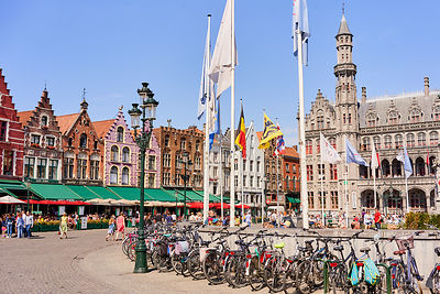 european motorcycle travel bruges