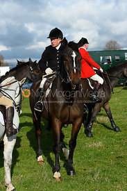 David Bland at second horses. Quorn Hunt Opening Meet 2018