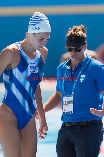 Waterpolo Women ESP-GRE