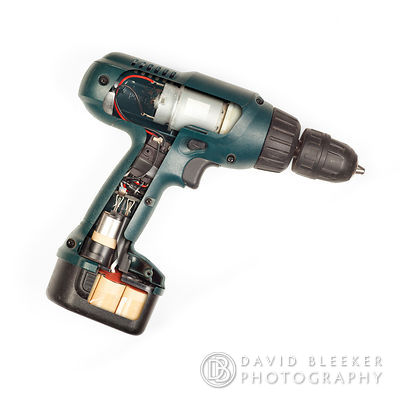 Cordless Drill, inside view