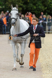 Tim Lips and KEYFLOW NOP - First Horse Inspection, Mitsubishi Motors Badminton Horse Trials 2014