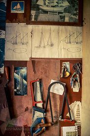 Tools In Workshop, Island Hvar, Stari Grad, Dalmatia, Croatia