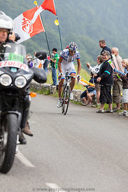 The cyclist Roy Jeremy - Tour de France 2011