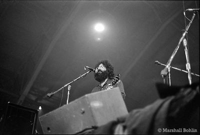 The Grateful Dead in 1970 at the Chicago Coliseum