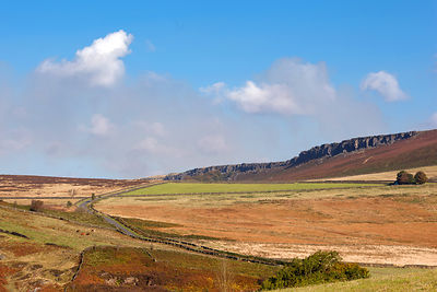 The road to Stanage Edge