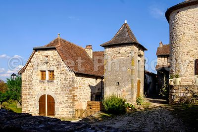 CAPDENAC LE HAUT, LOT, FRANCE