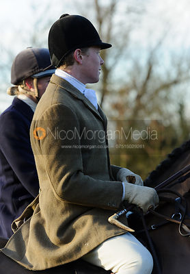 Charles Henson at the meet - The Belvoir Hunt at Waltham House