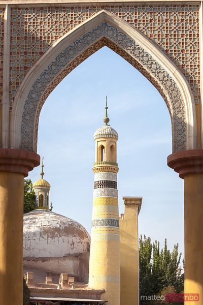 Id Kah mosque in Kashgar, Xinjiang, China