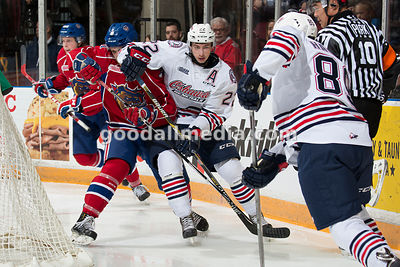 Oshawa Generals vs Hamilton Bulldogs on November 20, 2015