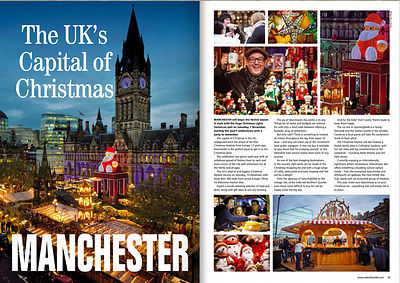Manchester's Albert Hall Christmas markets