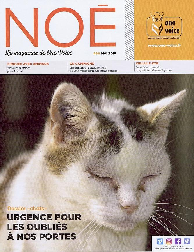 NOÉ, magazine de One Voice (France) - Mai 2018
