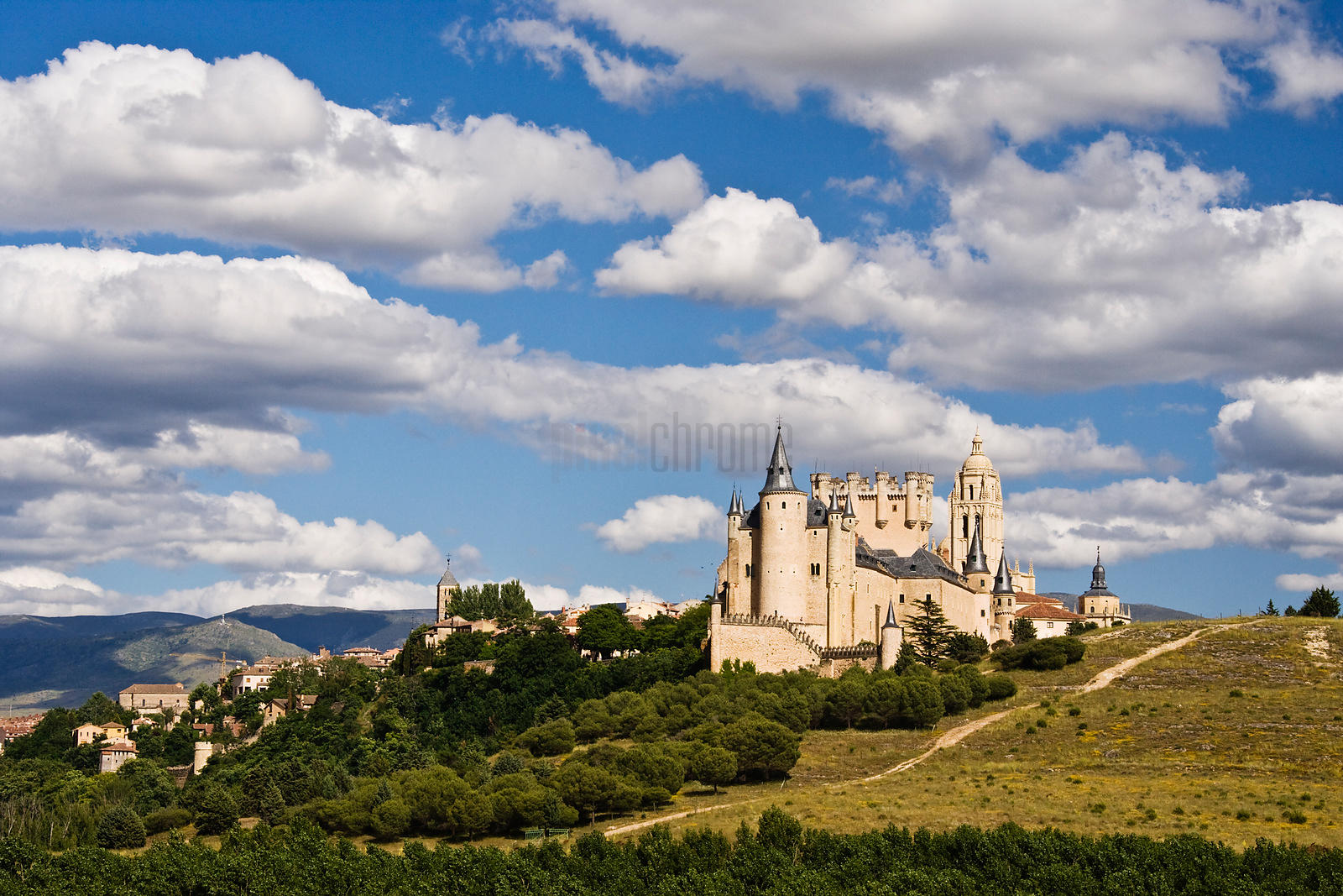 Alcazar Castle Segovia Castile and Leon Spain