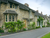 Old stone cottage, Cotswold