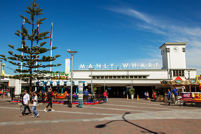 Manly Wharf Ferry Terminal from the Street
