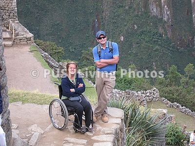 Woman in wheelchair on mission to Peru