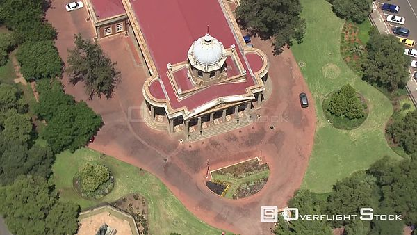 Aerial shot of the Supreme Court in Bloemfontein Bloemfontein Free State South Africa