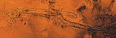 Mars - Valles Marineris