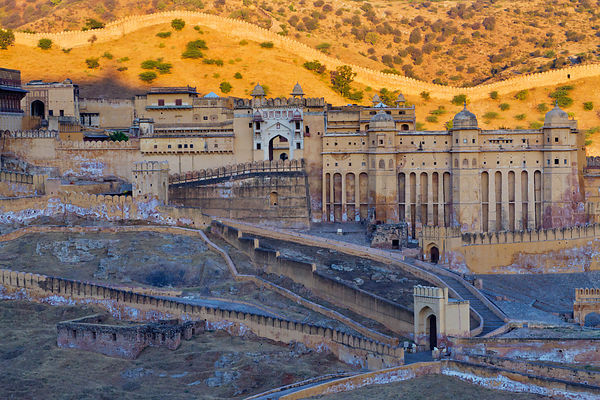 The Amber Fort at Sunrise