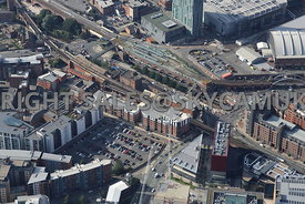 Hewitt Street and Deansgate Railway Station and Castlefield Metro Station Whitworth Street West