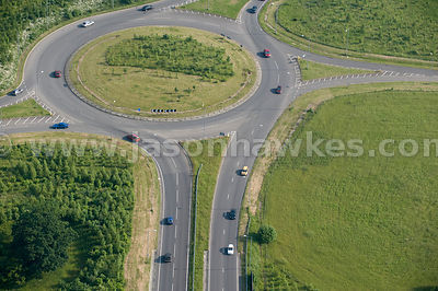 Roundabout, Great Leighs, Essex