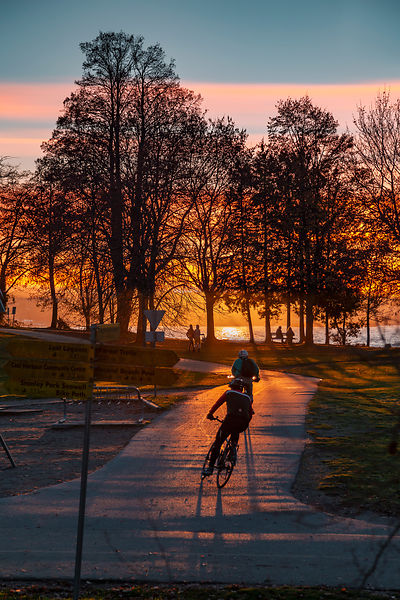 Cycling through the Seasons
