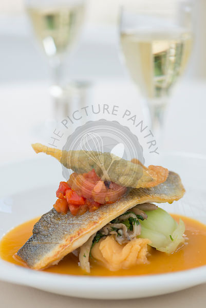 Sea Bass with Water Melon Curry