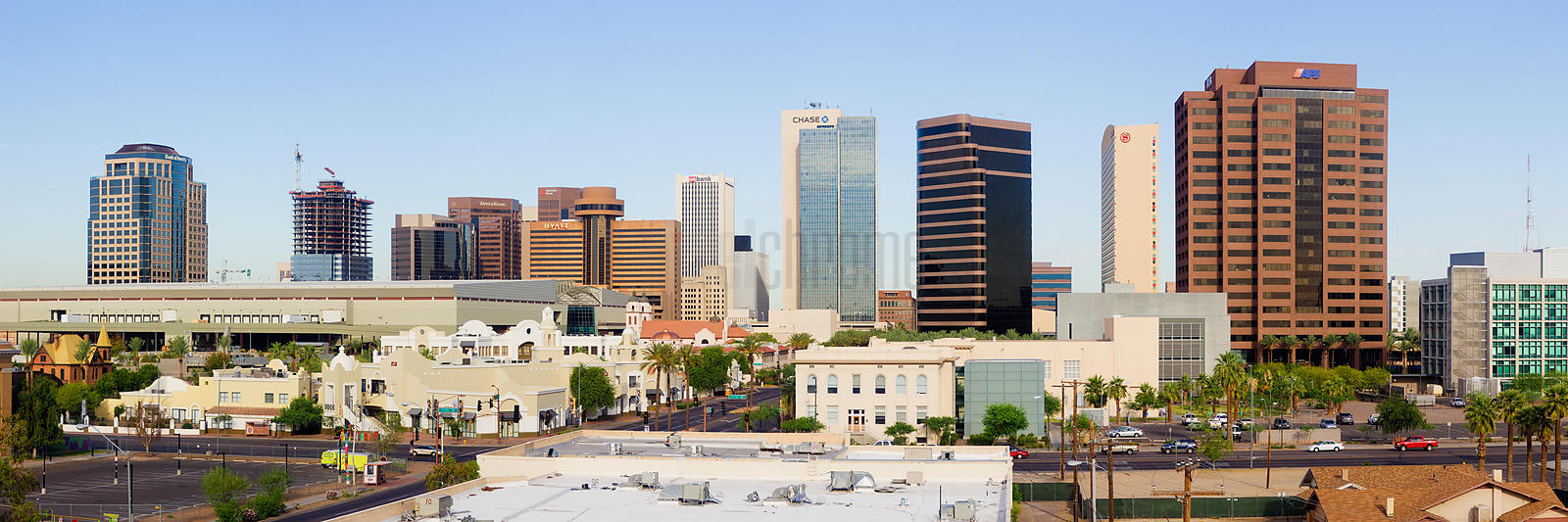 High Rise Buildings of Downtown Phoenix