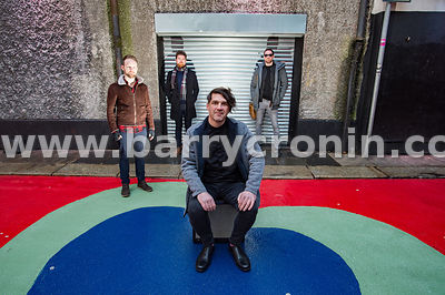 14th January, 2017.The band Imlé who are from left:Fergal Moloney,Cian Morgan-McCarthy,Marcus Mac Conghail (front) and Pádrai...