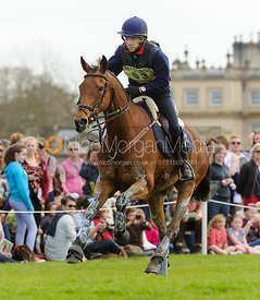 Susanna Bordone and BLUE MOSS - Cross Country - Mitsubishi Motors Badminton Horse Trials 2013.