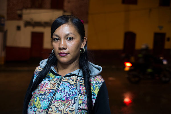 "Liza, 34 ans : «Pour moi, le graffiti est un acte de résistance. », Bogota, Colombie / Liza : ""For me, graffiti is an act of ..."