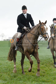 Ian Hendrie at Knossington Spinney - The Fitzwilliam Hunt visit the Cottesmore at Burrough House