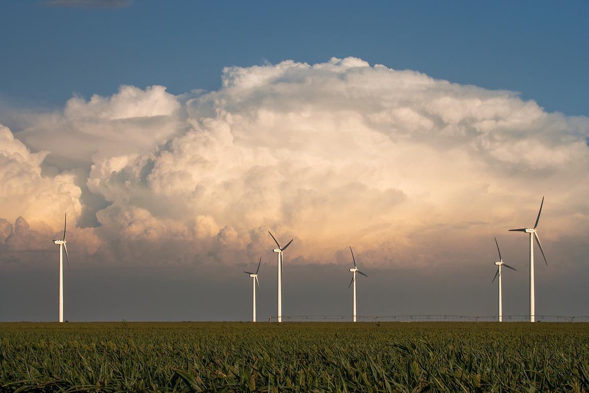 Clark Crenshaw Photography | Roscoe Wind Farm