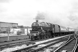 Steam loco Black 5 45046 Kirkham