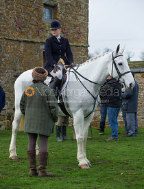 Kelly Morgan - The Cottesmore Hunt at Tilton on the Hill 10/11/12