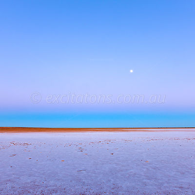 Dawn, Lake Eyre, South Australia.