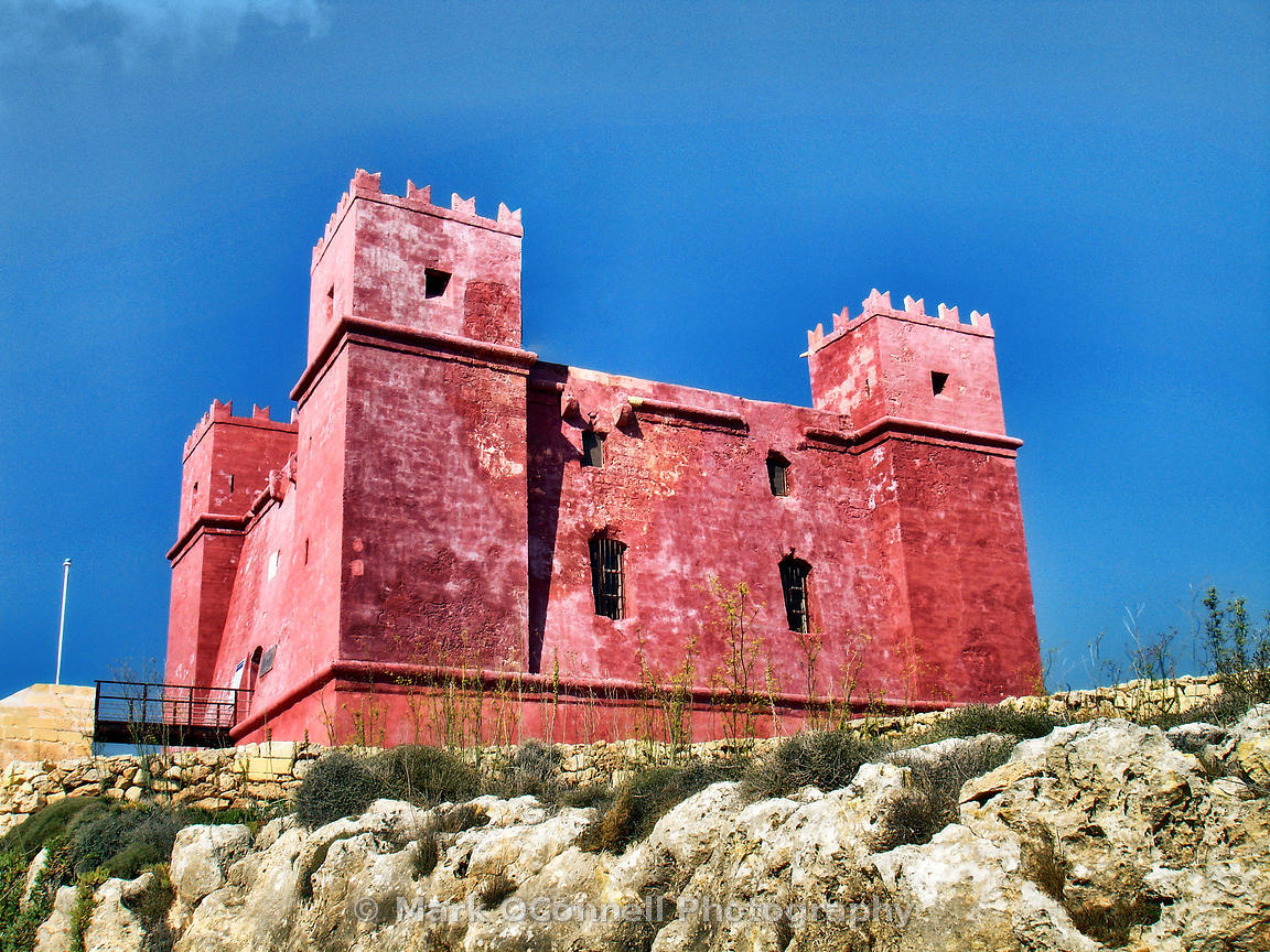 Watch tower in Gozo
