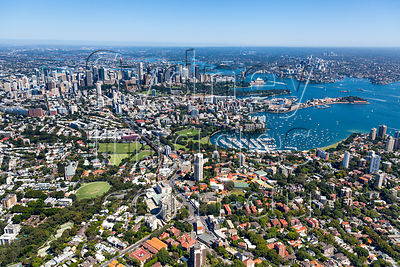 Edgecliff to Sydney