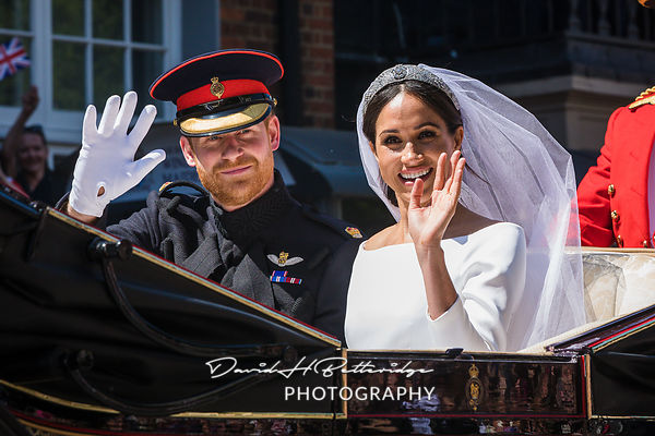 Royal Wedding of The Duke and Duchess of Sussex
