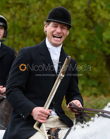 Mark Kyle near Gartree Covert - Quorn Hunt Opening Meet 2016
