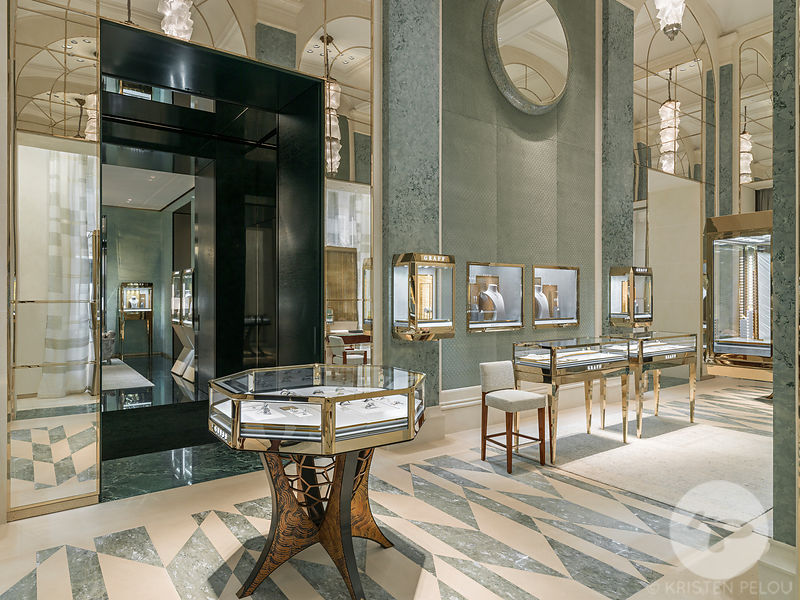 Retail architecture photographer - GRAFF DIAMONDS PARIS SAINT HONORE - Photo ©Kristen Pelou