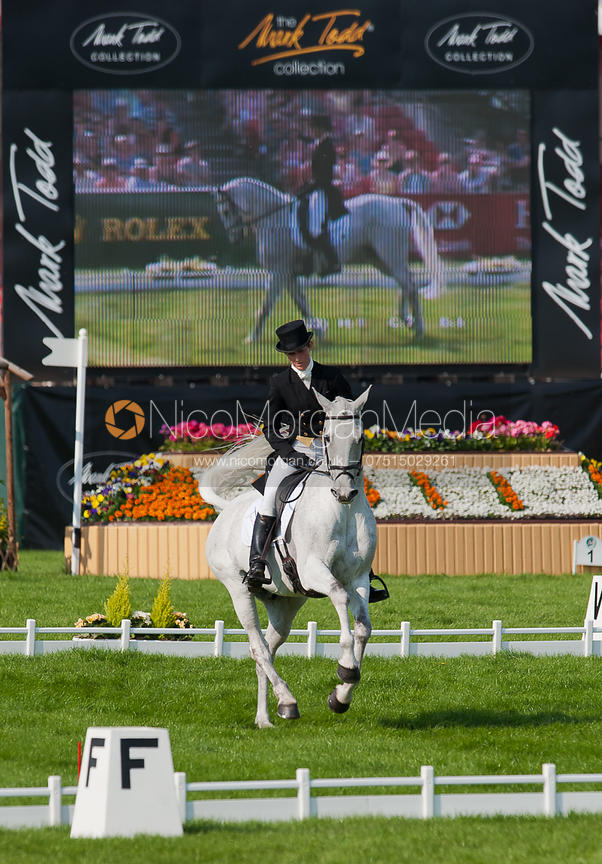 Caroline Powell and Lenamore - Dressage.